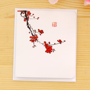 creative classical chinese christmas card