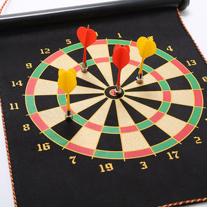 magnetic darts and flocking dartboard shooting game toys