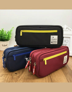 double-deck high capacity students pencil case