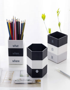 creative multifunctional detachable pencil holder