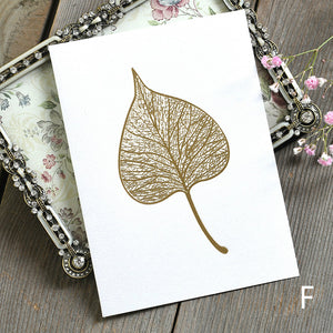 creative 3D relief gold stamping mother's day card
