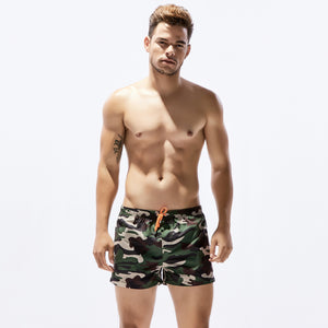 camouflage quick drying beach shorts