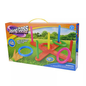 cross 5 rings throwing rings parent-child hoop throwing apparatus outdoor toys