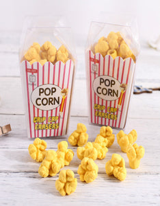 cute cartoon popcorn box eraser set
