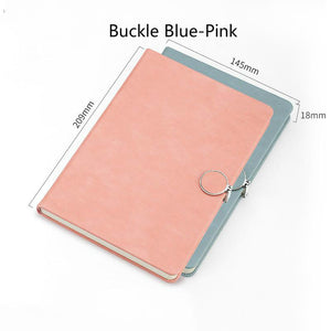 exquisite and thickened retro  leather notebook