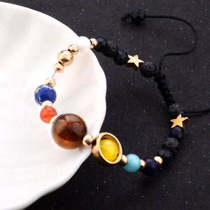 cosmic galactic solar system guard the stars bracelet