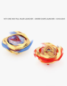 4pcs/set launcher spinning top beyblade burst persistent rotation toys