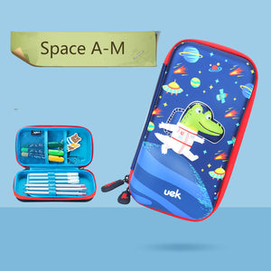 cute 3D pattern large capacity  zipper pencil case