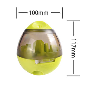 funny interactive dog cat food treat ball toy
