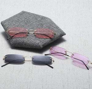 Chic Mini Rimless Sunglasses