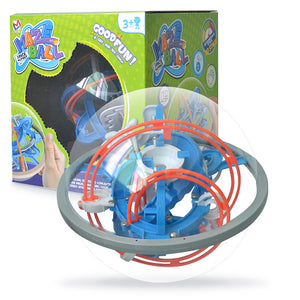 magic 3D space mission maze globe puzzle intellect ball