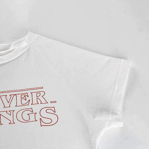 FOREVER STRANGS Short Sleeve T-shirt