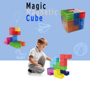 3d puzzle assembly magnetic rubik's cube
