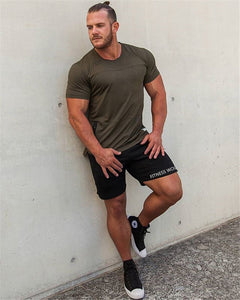 straight tube sweat absorption breathable  men's fitness pants