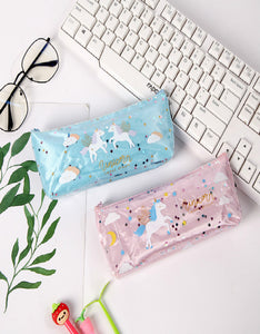 cartoon quicksand sequin pencil case