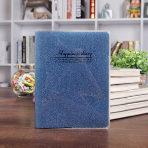 flash rubber cover softcover notebook