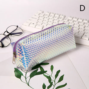 large capacity colorful laser pencil case