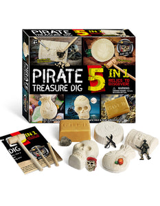 funny pirate treasure digging game toys