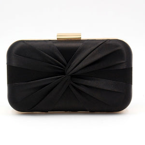 pure hand woven silk dinner clutch