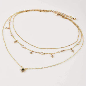 Little Stars Multi-layer Collarbone Necklace