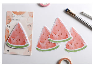 creative fruit convenience sticker
