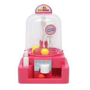 manual mini ball catcher pretend toys