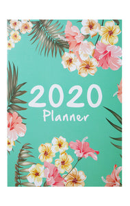 2020 schedule time management softcover notebook
