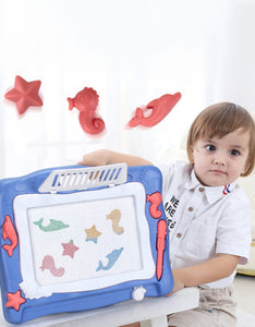 multi-function children's magnetic drawing board desk educational toys