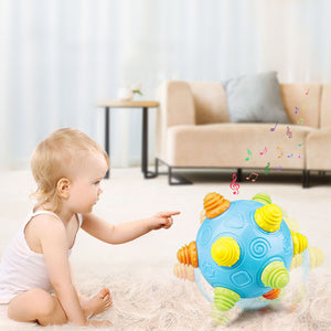 electric musical dancing ball baby toy