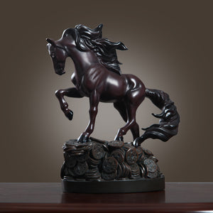 lucky horse business gift desktop decoration