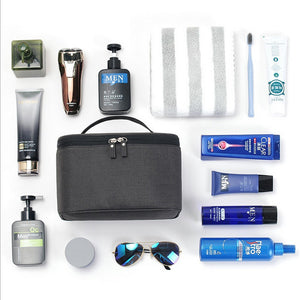 oxford cloth waterproof men cosmetic bag