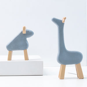 cartoon resin animal desktop decoration
