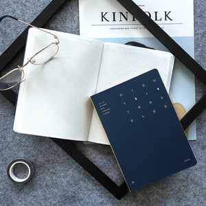 nightwalker series simple B6 luminous hardback notebook