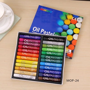 artist professional oil pastel drawing crayons