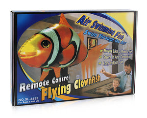 funny air flying fish remote control toys