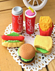 creative and realistic KFC style eraser