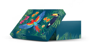 Gift Box Parrot Galaxy Beautiful Fashion Gift boxes New Design for her, valentins day,mother's day Christmas Gift