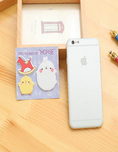 cute potato and rabbit convenience sticker