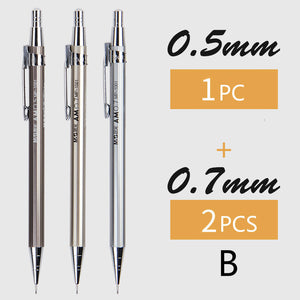students metal scalable mechanical pencil