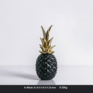 simple pineapple model desktop decoration