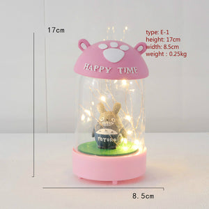 cartoon night light desktop decoration