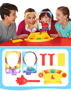 funny cake cream pie in the face family party game toys
