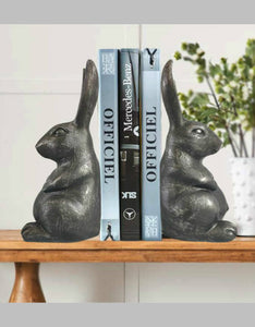 vintage rabbit Nordic style book building desktop decoration
