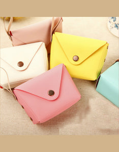 cute candy colors mini coin purse