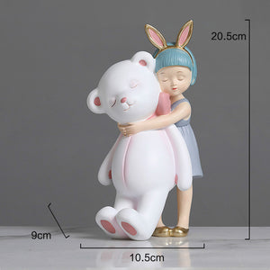 cute girl sweet dream birthday gift desktop decoration