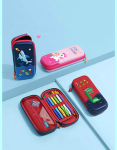 cute cartoon kids waterproof pencil case