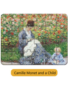 classic world famous painting printed artist puzzle toys