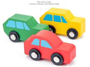 towing vehicle wooden transport toys