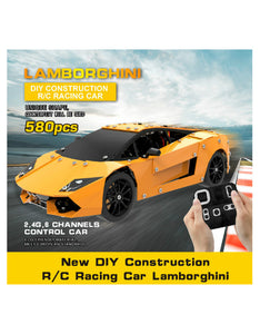 alloy assembled remote control vehicle diy construction R/C racing car