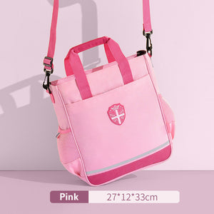 England style nobility high-capacity cross body/handle school bag